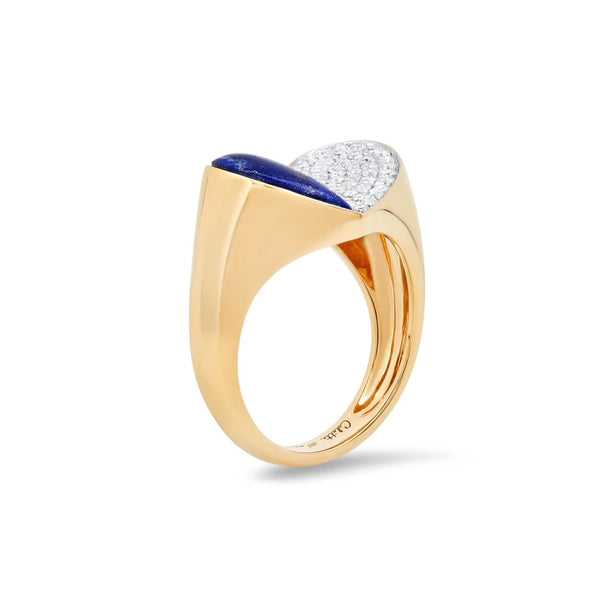 """HEART PENACHO LAPIS"" RING"