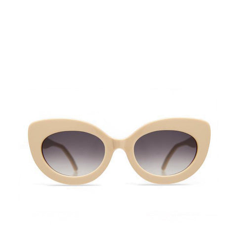 """Jackie"" Cream/ Orange Sunglasses"