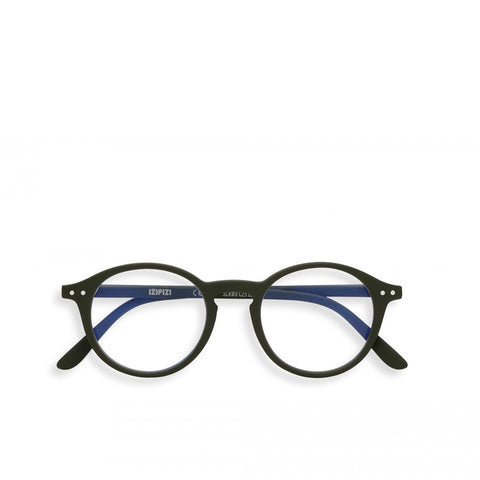 """D"" Kaki Screen Glasses"
