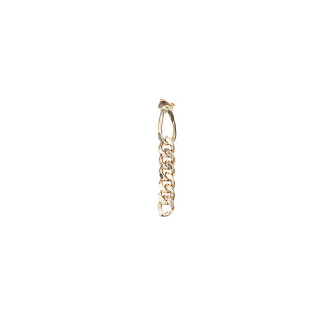 """KIM"" SMALL GOLD MONO EARRING"