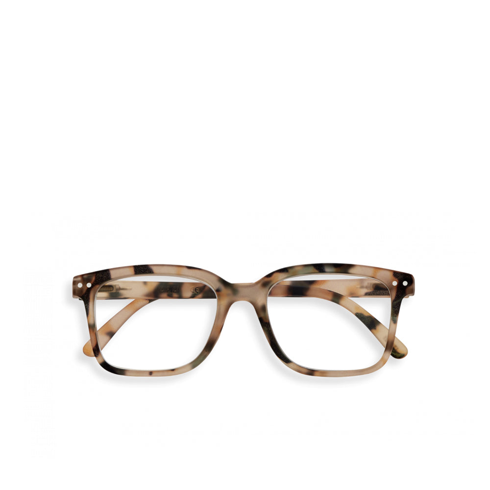 """L"" Light Tortoise Reading Glasses"
