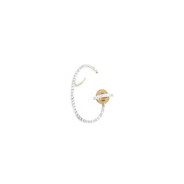 """Lily Diamond"" Right Ear Cuff"