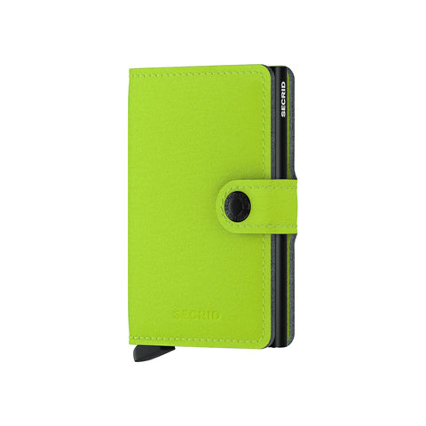 """YARD"" LIME MINI-WALLET"