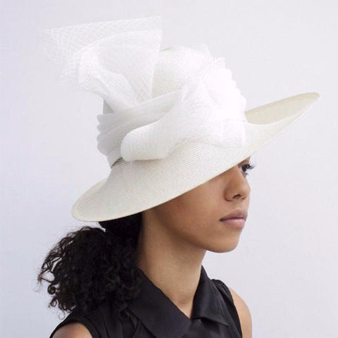 """Occasion"" Ivory Hat"