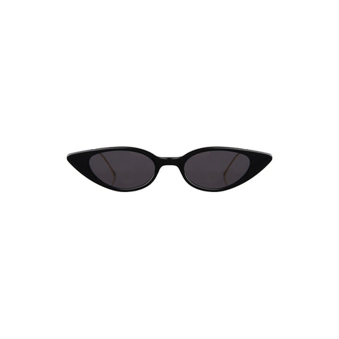 """Marianne"" Black Sunglasses"