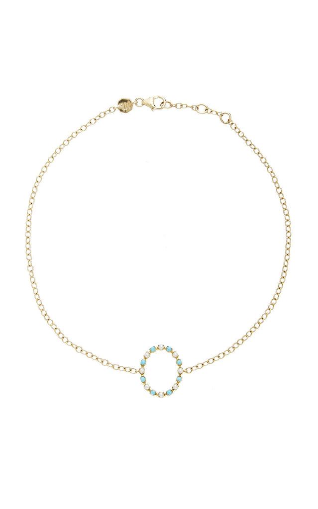 Marlo Laz Full Circle 14K Gold Choker