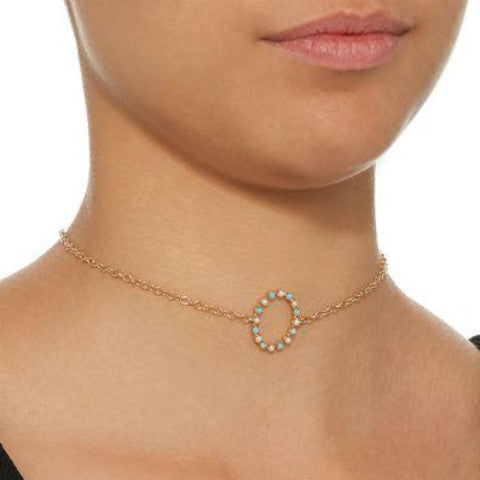 """FULL CIRCLE"" CHOKER NECKLACE"