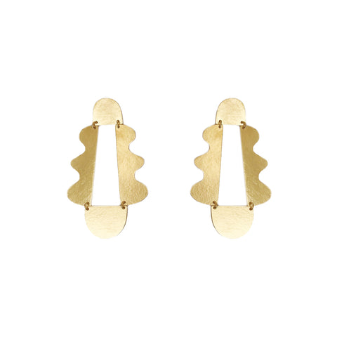"""Matisse"" Earrings Gold"