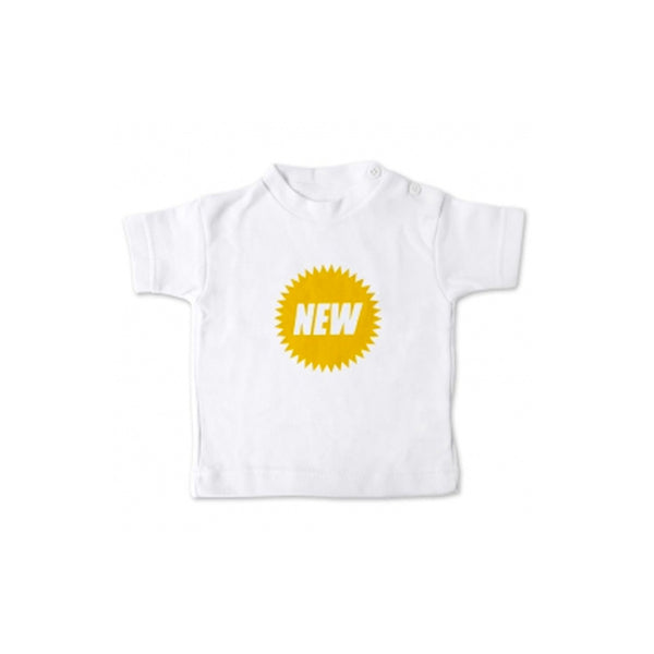 """New"" Newborn T-shirt"