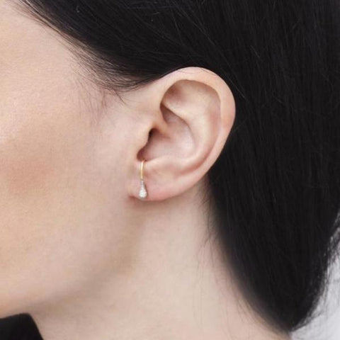 """Now"" Mono Ear Stud"