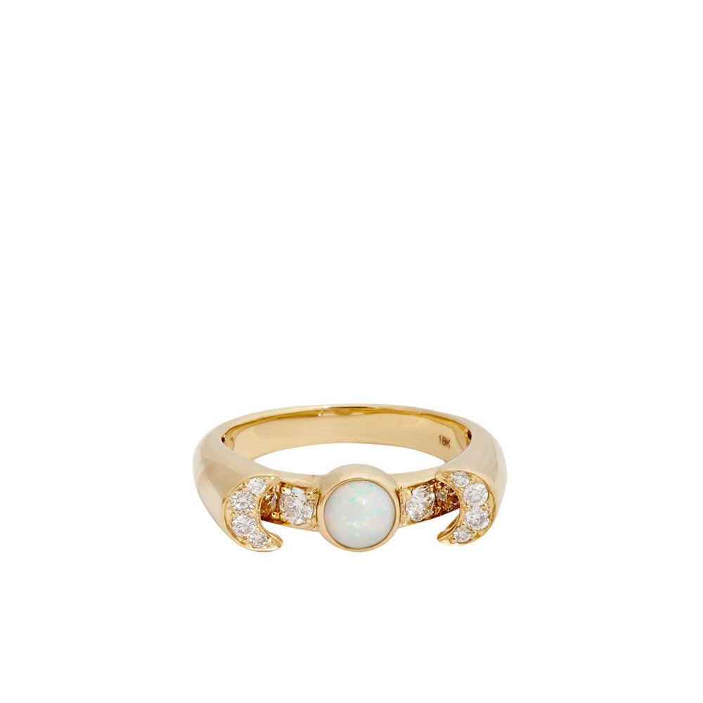 """Luna"" 18k Yellow Gold Ring - ARCHIVES ltd"
