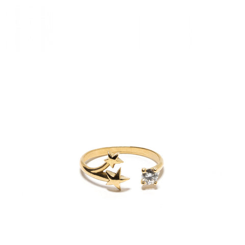 """Orion"" 18k Yellow Gold Ring - ARCHIVES ltd"