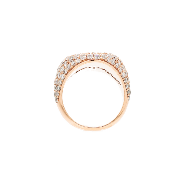 """CHEVALIÈRE"" ROSE GOLD RING"
