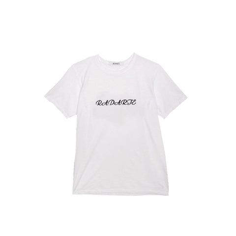 """Radarte"" White T-Shirt"