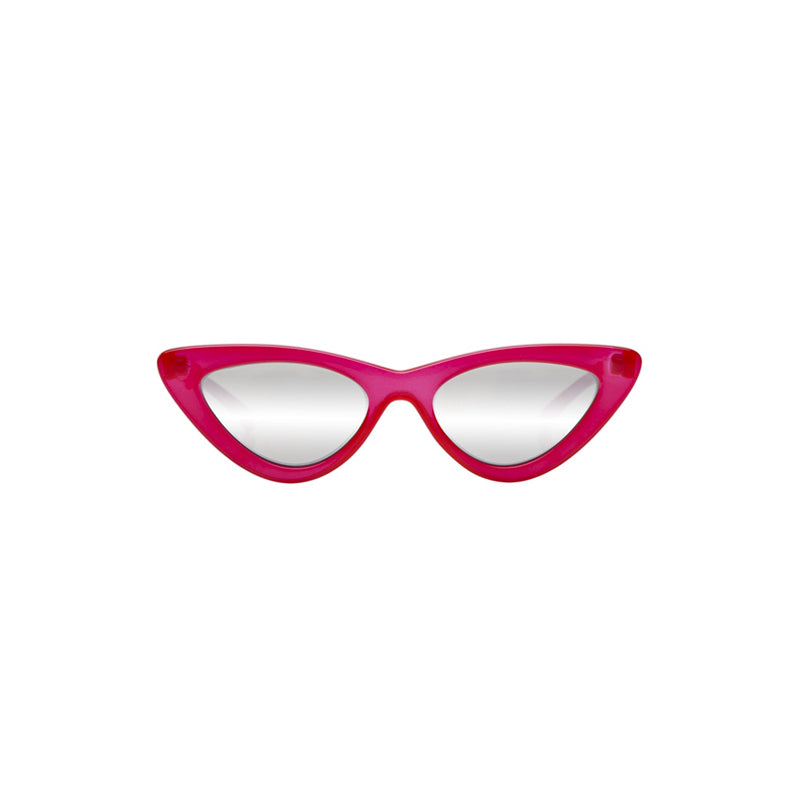 """The Last Lolita"" Opaque Red Sunglasses"