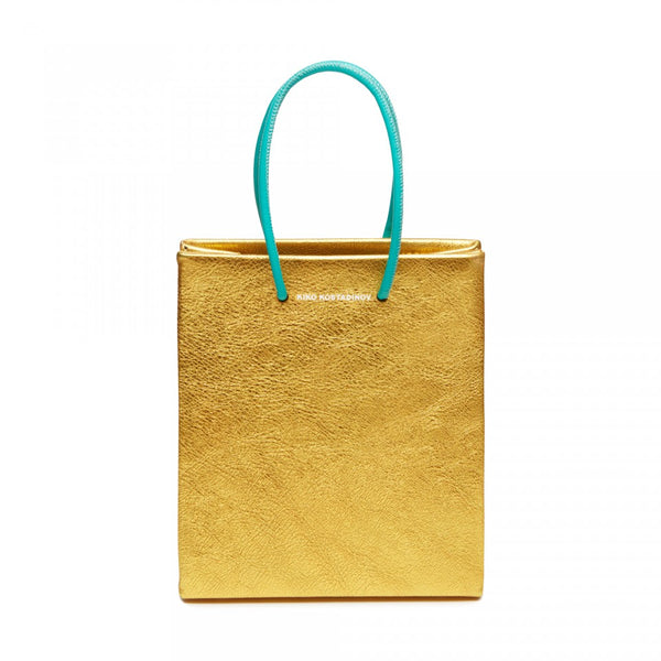 "MEDEA X KIKO KOSTADINOV ""Metallic Gold"" Short Bag"