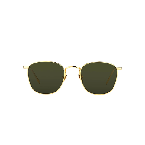 "LINDA FARROW ""SIMON C5"" SQUARE SUNGLASSES"