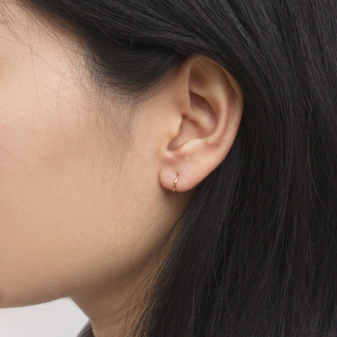 """Tiny Hoop"" Earring"