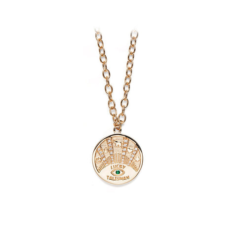 """Talisman"" Coin Necklace"