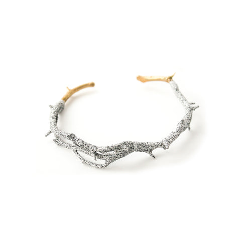 Pearls Before Swine Thick silver bangle Fv9sHY9ff