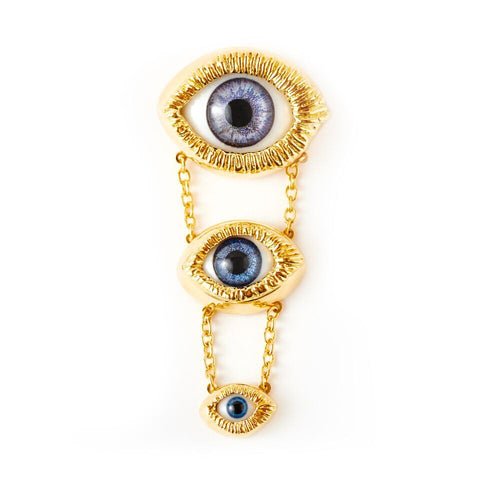 """Multiple Eye Brooch"""
