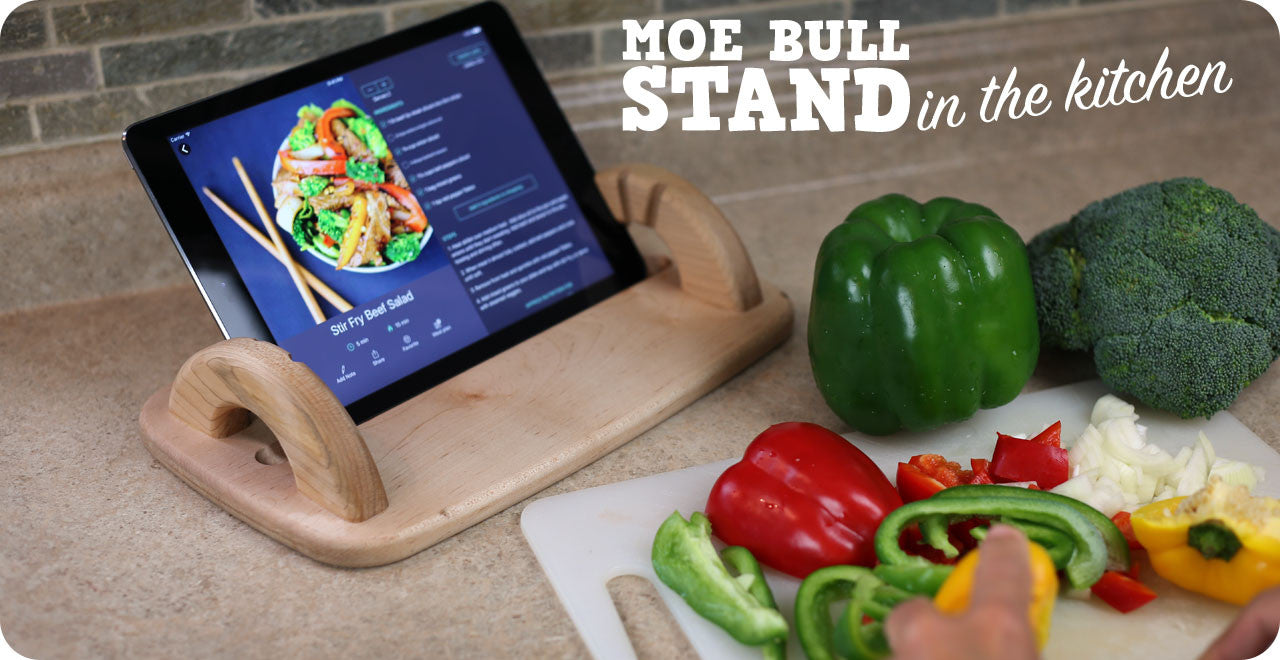 iPad stand for kitchen