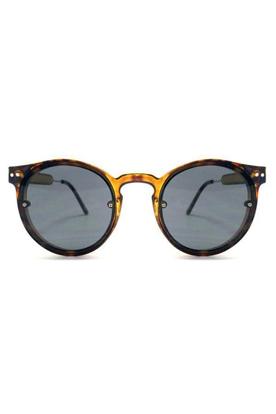 Post Punk Round Tortoise Sunnies