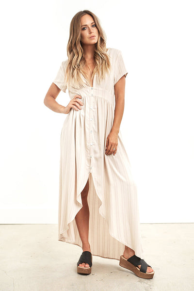 Dawson Maxi Dress Stripe