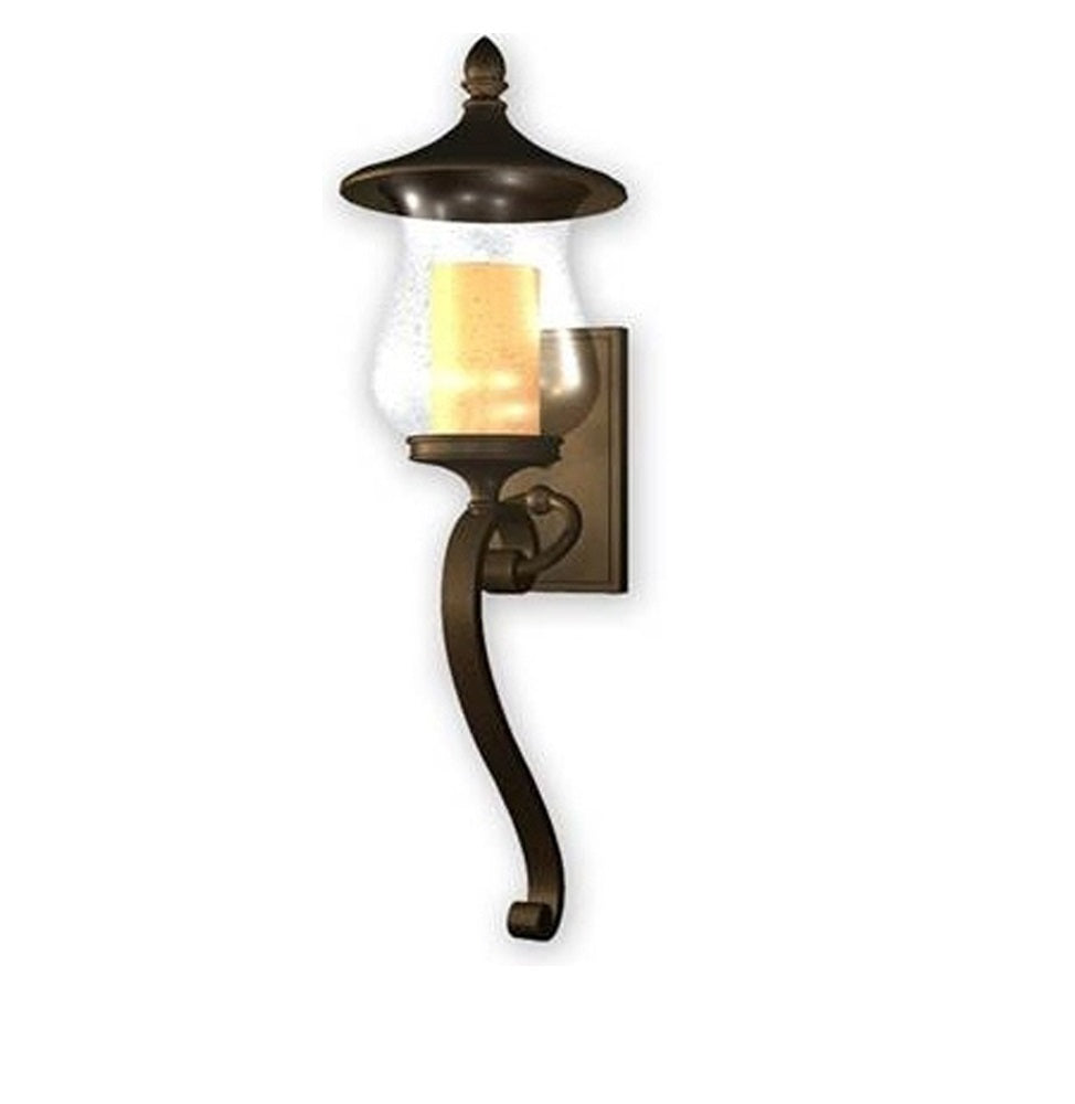 allen and roth Kenneset 29 inch H Bronze Outdoor Wall Light