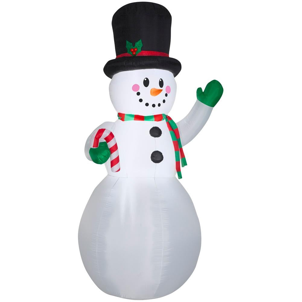 Home Accents Holiday 9 FT Giant-Sized LED Snowman Airblown Inflatable