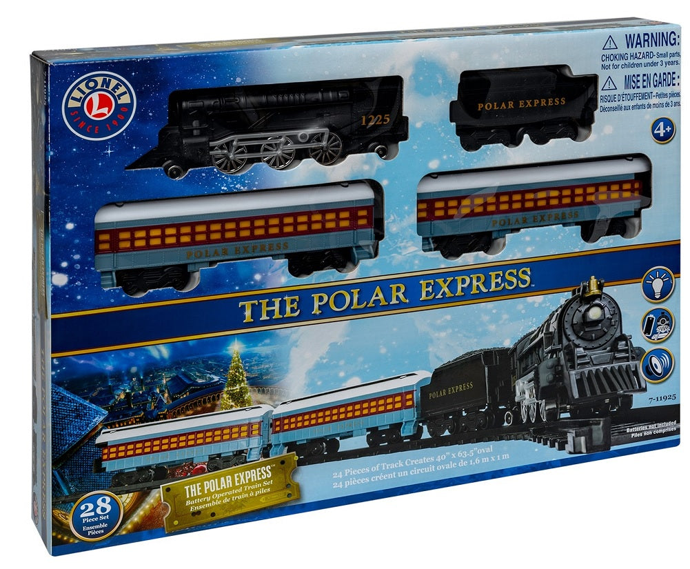 Lionel The Polar Express Battery Operated Mini Train Set Standard