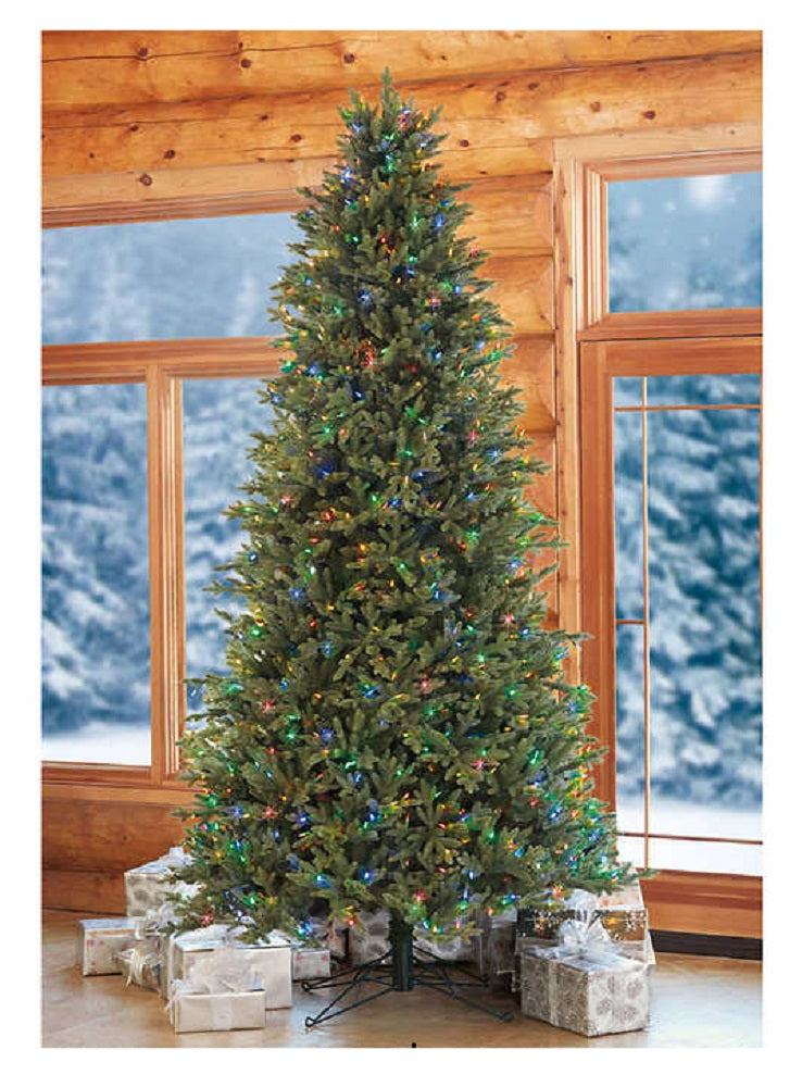 12' Artificial Pre-Lit LED Christmas Tree EZ CONNECT
