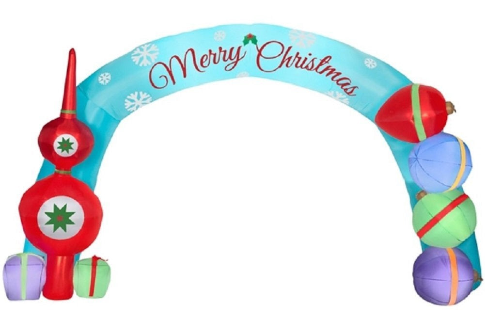 Holiday Living 18 ft Airblown Deck the Halls Archway