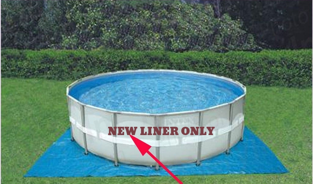 Intex Ultra Steel Frame Pool Liner ONLY (22FTx52IN)
