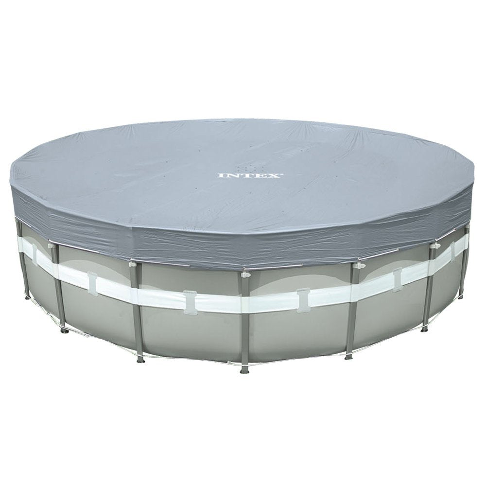 Intex Deluxe 18-Foot Round Pool Cover