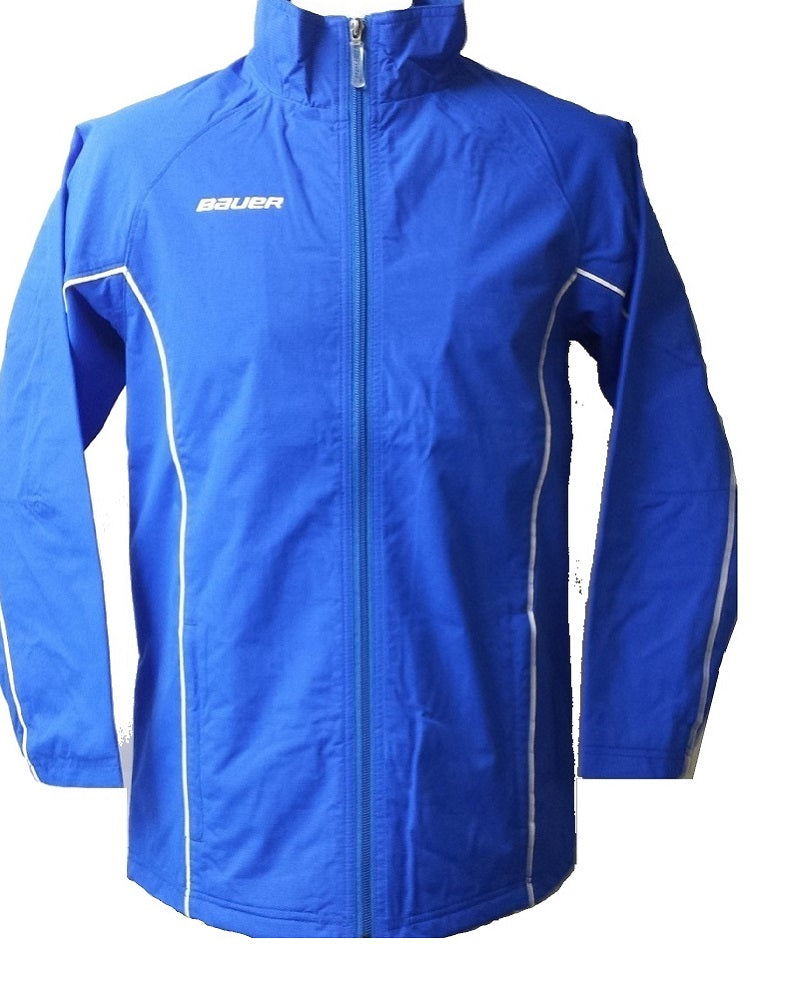 Bauer Youth Warm Up Jacket, Royal, Medium