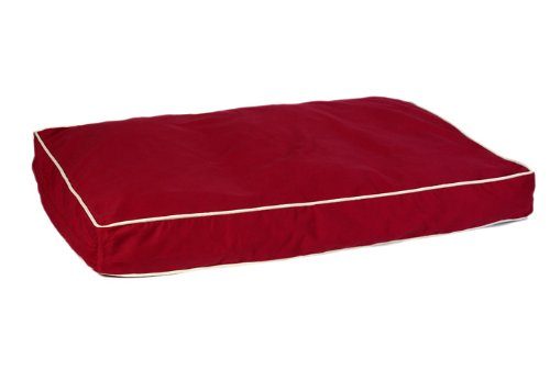 Pet Dreams New Ultra-Bliss Memory Foam Bed, XX-Large, Burgundy