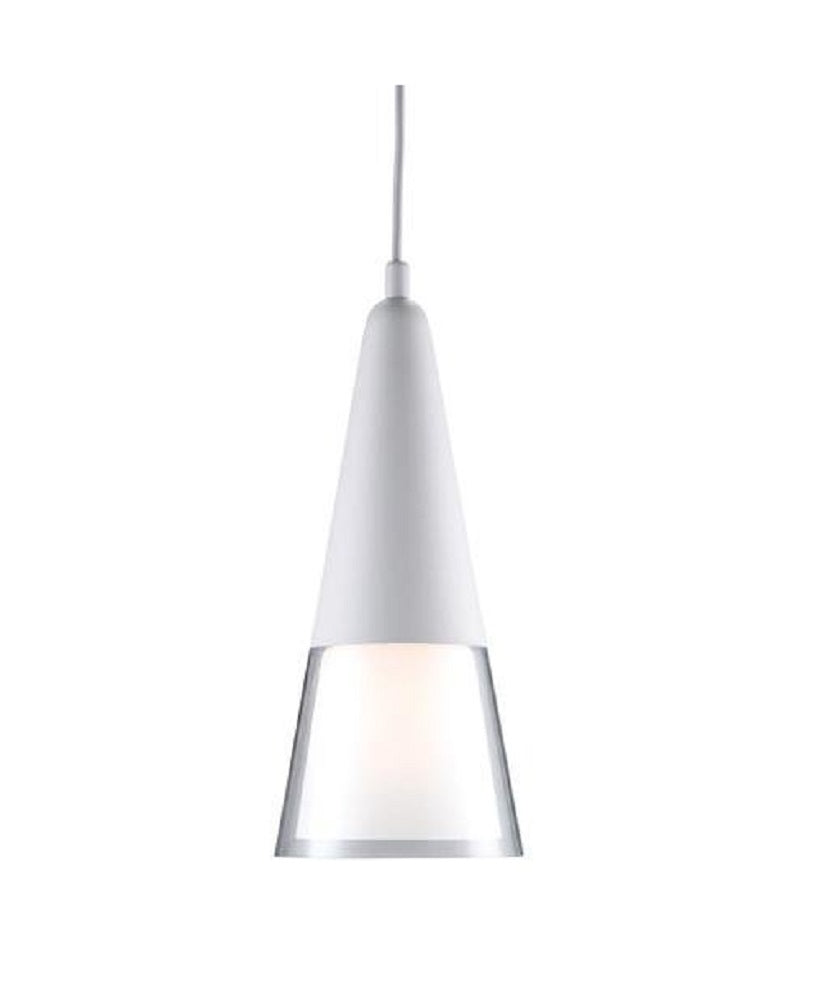 Adesso 3277-02 Beacon Pendant Light Fixture, White