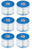 Intex PureSpa Type S1 Replacement Filter Cartridges (6 Pack) | 29001E