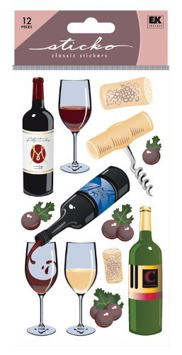 Sticko Classic Wine Sticker