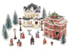Holiday Time Christmas Village Figurine, 20-Piece Village Set