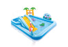 Intex Jungle Adventure Play Center Inflatable Kiddie Spray Wading Pool
