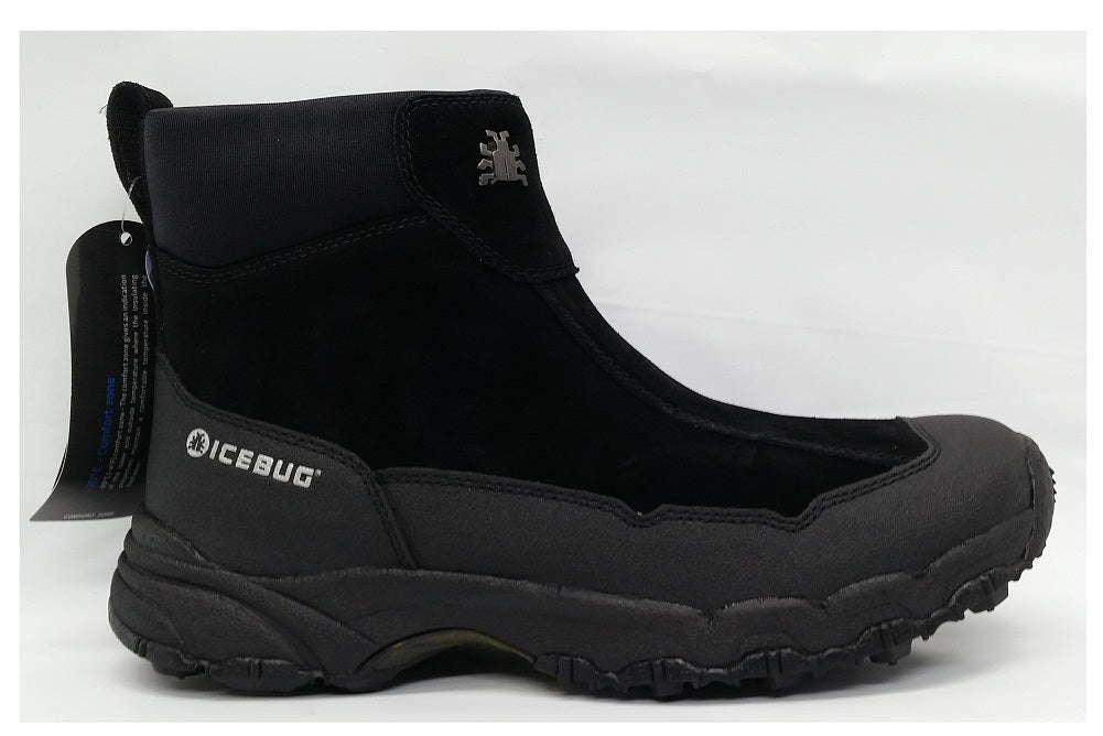 Icebug Women's Black Metro L BUGrip Studded Traction Winter Boot  Size 5 5
