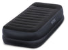Intex Dura-Beam Series Pillow Rest Raised Airbed with Fiber-Tech Construction...