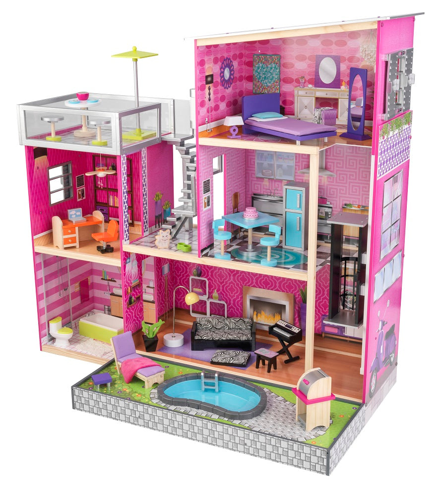 KidKraft Uptown Dollhouse with Accessories