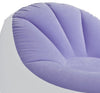 INTEX Inflatable Colorful Cafe Chaise Lounge Chair w/ Ottoman - Purple | 68572E