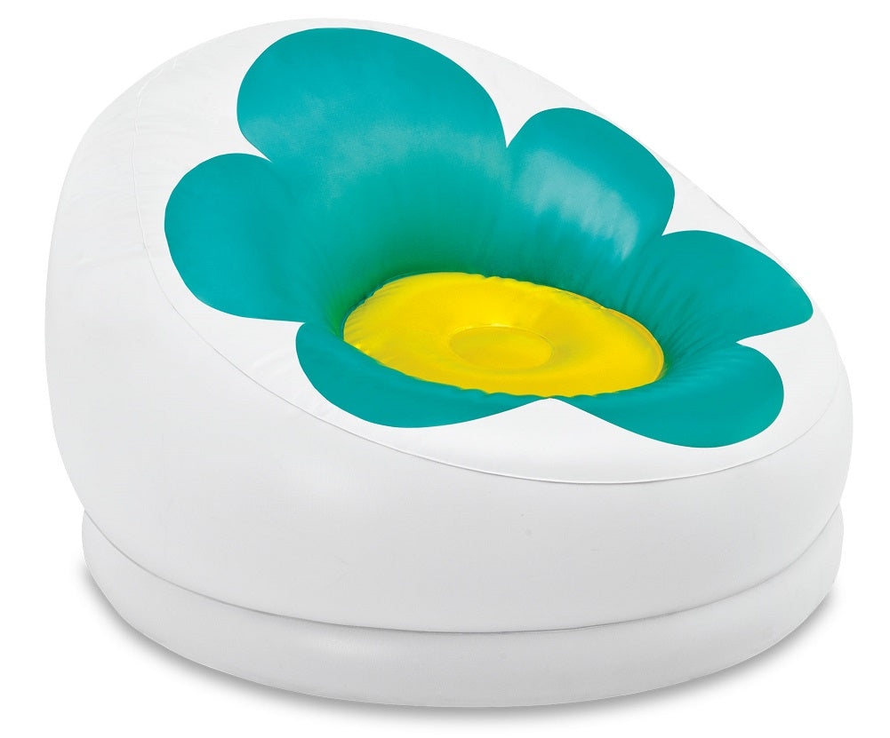 Intex Inflatable Blossom Chair For Kids Turquoise 68574EP