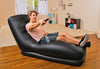 Intex Inflatable Mega Air Lounge Living Door Room Lounger Black 68585EP