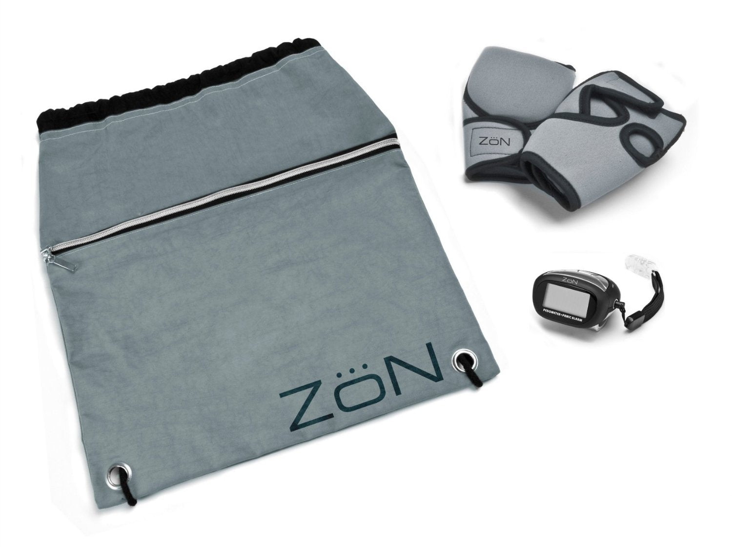 ZoN Deluxe Walking Kit weights gloves and pedometer