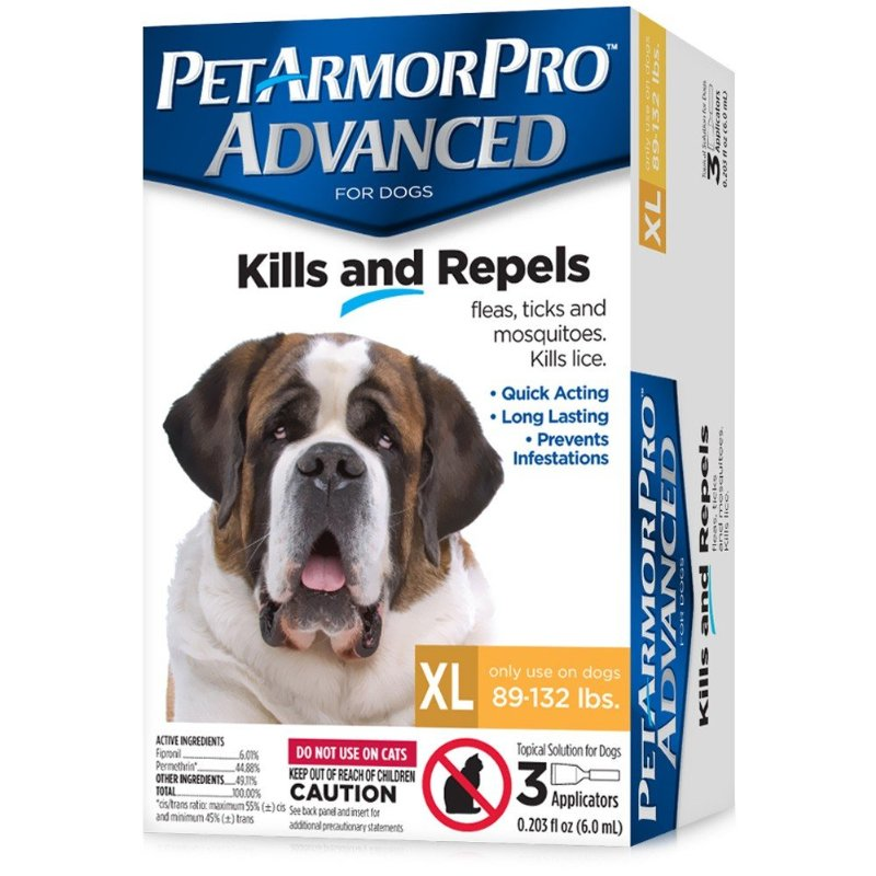 PetArmor Pro Advanced Flea & Tick Treatment for Extra Large Dogs